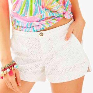 Lilly Pulitzer White Shorts Like new 2
